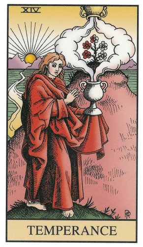 Alchemy Tarot Card Meaning: The Old Hermit